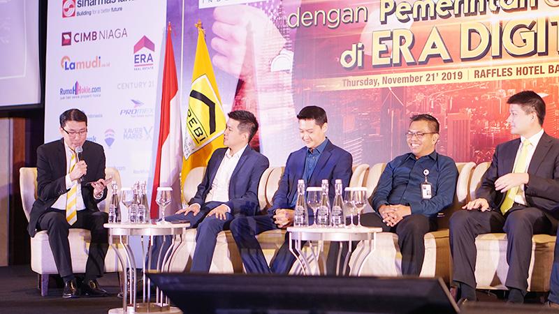 the biggest summit AREBI 2019 raffles hotel jakarta