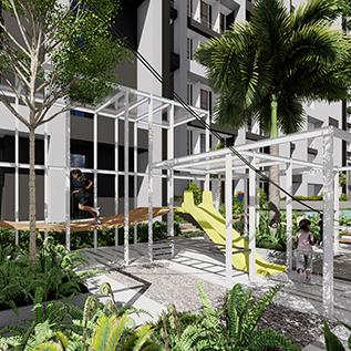 apartemen kingland avenue alam sutera serpong fasilitas